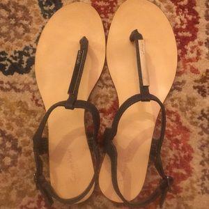 Calvin Klein Sandals size 8 medium, navy blue